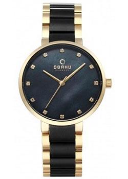 fashion наручные  женские часы Obaku V189LXGBSB1. Коллекция Links