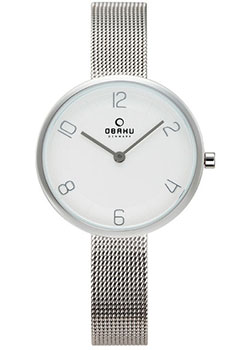 fashion наручные  женские часы Obaku V195LXCIMC. Коллекция Mesh.