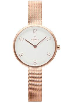 fashion наручные  женские часы Obaku V195LXVIMV. Коллекция Mesh.