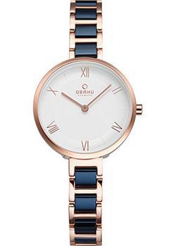 fashion наручные  женские часы Obaku V195LXVISL. Коллекция Links.