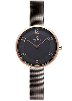 fashion наручные  женские часы Obaku V195LXVJMJ. Коллекция Mesh.