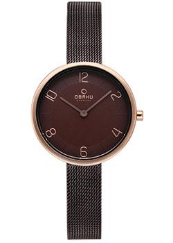 fashion наручные  женские часы Obaku V195LXVNMN. Коллекция Mesh.