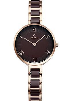 Fashion наручные женские часы Obaku V195LXVNSN. Коллекция Links фото