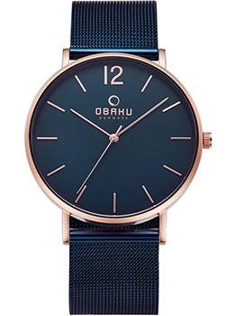 Fashion наручные мужские часы Obaku V197GXVLML. Коллекция Mesh фото