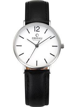 fashion наручные  женские часы Obaku V197LXCWRB. Коллекци Leather