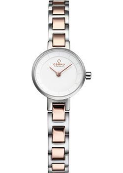 fashion наручные  женские часы Obaku V198LXCISC. Коллекция Links