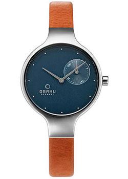 fashion наручные  женские часы Obaku V201LDCLRZ. Коллекция Leather.