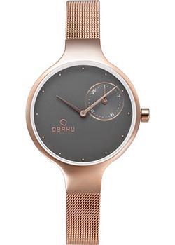 fashion наручные  женские часы Obaku V201LDVJMV. Коллекция Mesh