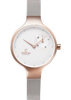 fashion наручные  женские часы Obaku V201LDVWMC. Коллекция Mesh