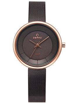 Fashion наручные женские часы Obaku V206LRVNMN. Коллекция Mesh фото
