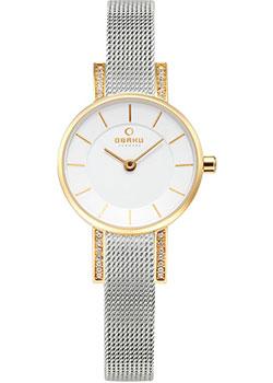 fashion наручные  женские часы Obaku V207LEGIMC. Коллекция Mesh