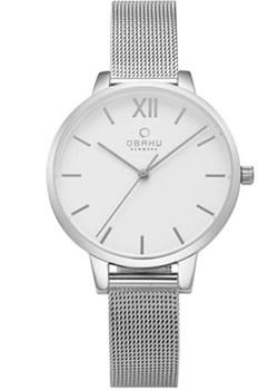 fashion наручные  женские часы Obaku V209LXCIMC. Коллекция Mesh
