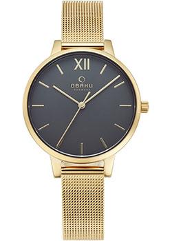 Fashion наручные женские часы Obaku V209LXGJMG. Коллекция Mesh фото