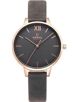 fashion наручные  женские часы Obaku V209LXVJRJ. Коллекция Leather
