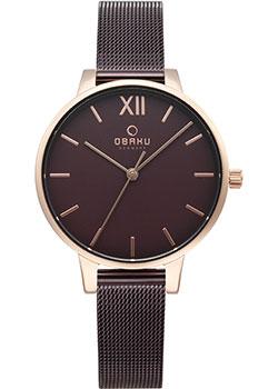 Fashion наручные  женские часы Obaku V209LXVNMN. Коллекция Mesh фото