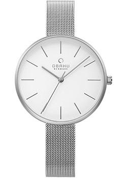 fashion наручные  женские часы Obaku V211LXCIMC. Коллекция Mesh