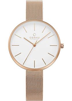 fashion наручные  женские часы Obaku V211LXVIMV. Коллекция Mesh