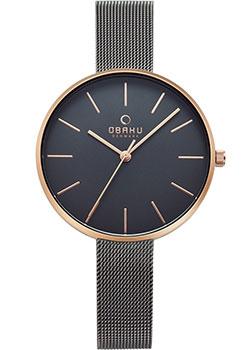 fashion наручные  женские часы Obaku V211LXVJMJ. Коллекция Mesh