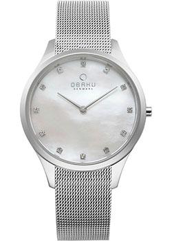 fashion наручные  женские часы Obaku V217LXCWMC. Коллекция Mesh.