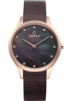fashion наручные  женские часы Obaku V217LXVNMN. Коллекция Mesh.