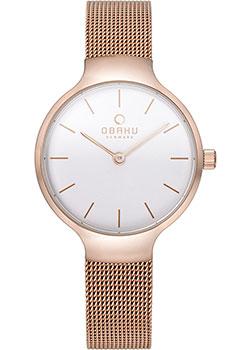 Fashion наручные женские часы Obaku V223LXVIMV. Коллекция Mesh фото