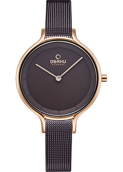 fashion наручные  женские часы Obaku V228LXVNMN. Коллекция Mesh.