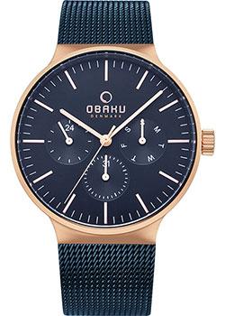 Fashion наручные мужские часы Obaku V229GMVLML. Коллекция Mesh фото