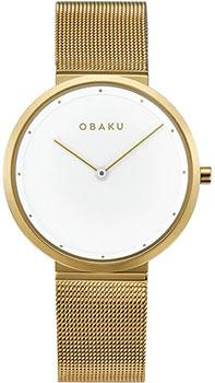 Fashion наручные женские часы Obaku V230LXGWMG. Коллекция Ultra Slim фото