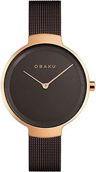 Fashion наручные женские часы Obaku V231LXVNMN. Коллекция Mesh фото