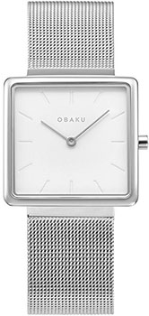 Fashion наручные женские часы Obaku V236LXCIMC. Коллекция Mesh фото