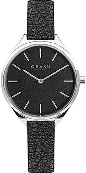 fashion наручные  женские часы Obaku V257LHCNRB. Коллекция Leather