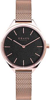 fashion наручные  женские часы Obaku V257LHVNMV. Коллекция Mesh