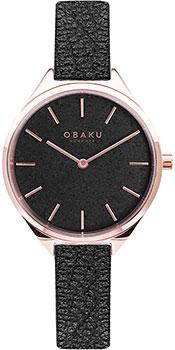 fashion наручные  женские часы Obaku V257LHVNRB. Коллекция Leather