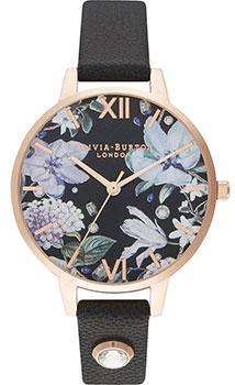 Fashion наручные женские часы Olivia Burton OB16BF23. Коллекция Bejewelled Florals фото