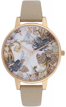Fashion наручные женские часы Olivia Burton OB16CS17. Коллекция Marble Florals фото