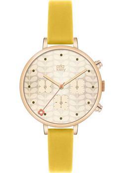fashion наручные  женские часы Orla Kiely OK2038. Коллекция Ivy