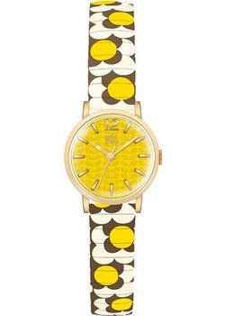 fashion наручные  женские часы Orla Kiely OK4044. Коллекция Flower pop
