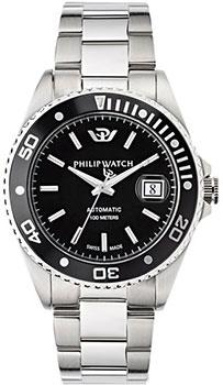 fashion наручные  мужские часы Philip watch 8223597010. Коллекция Caribe
