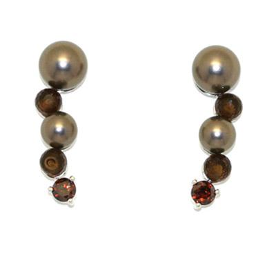 Серебряные серьги  PCER-90170.A