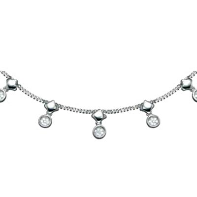 Серебряное колье  PCNL-90231.A