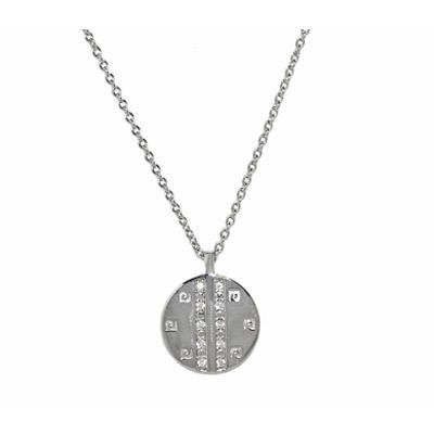 Серебряное колье  PCNL-90361.A