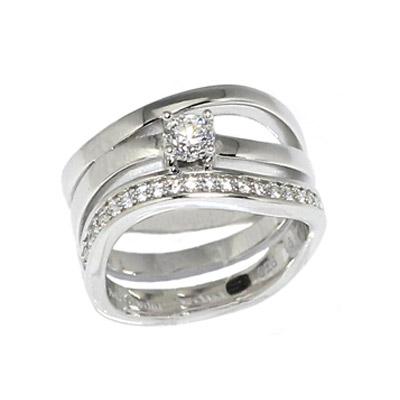 Серебряное кольцо  PCRG-90274.A