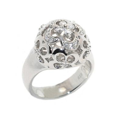 Серебряное кольцо  PCRG-90325.A