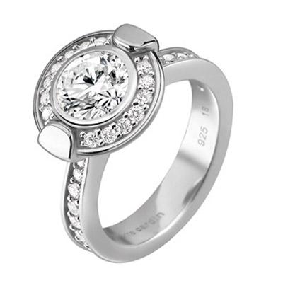 Серебряное кольцо  PCRG-90352.A