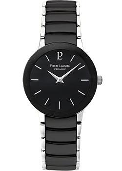fashion наручные  женские часы Pierre Lannier 006K938. Коллекция Elegance Ceramic.