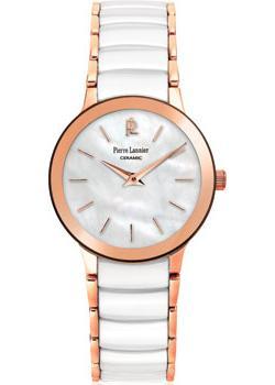 fashion наручные  женские часы Pierre Lannier 013L990. Коллекция Elegance Ceramic