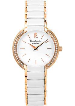 fashion наручные  женские часы Pierre Lannier 021H900. Коллекция Elegance ceramic