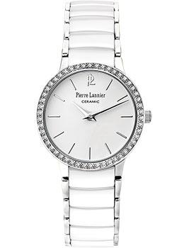 fashion наручные  женские часы Pierre Lannier 044M929. Коллекция Elegance Ceramic