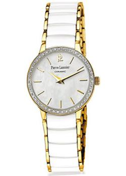 fashion наручные женские часы Pierre Lannier 045K590. Коллекция Elegance Ceramic