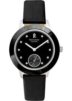 fashion наручные  женские часы Pierre Lannier 062J633. Коллекция Elegance ceramic